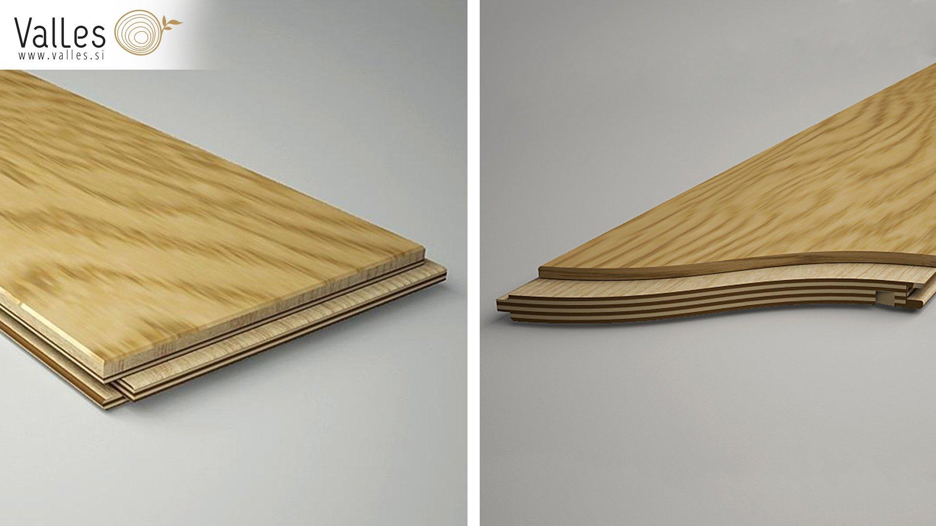 Parquet prefinito – parquet per riscaldamento a pavimento